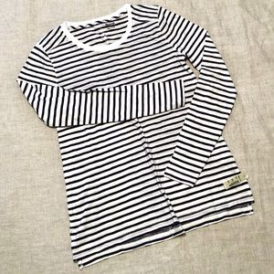 Madewell Long Sleeve Striped Tee